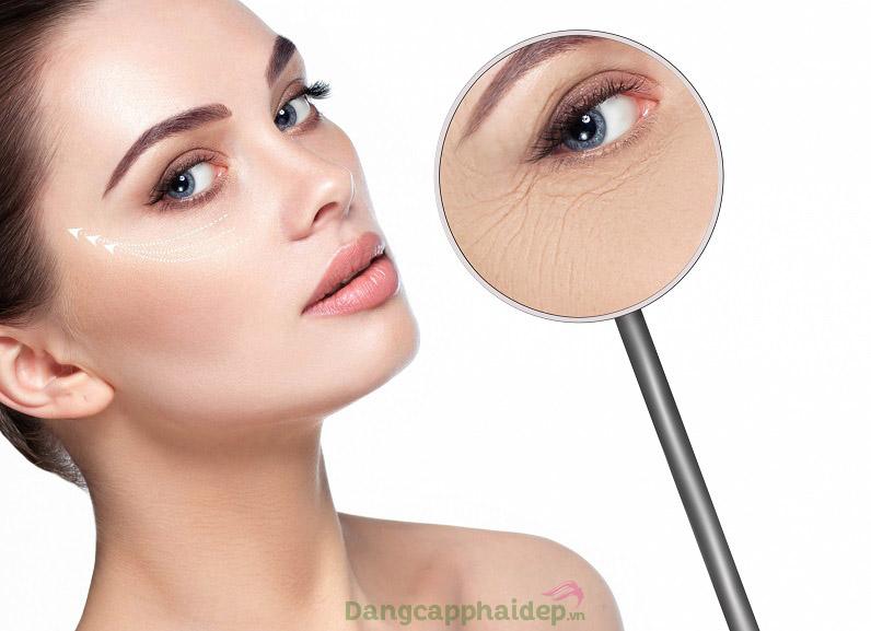 Là phẳng nếp nhăn, da vùng mắt căng đầy trẻ trung với thói quen sử dụng kem dưỡng mắt mỗi ngày