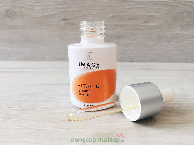 dưỡng da mùa lạnh Image Vital C Hydrating Facial Oil 30ml - Tinh dầu massage chống lão hoá