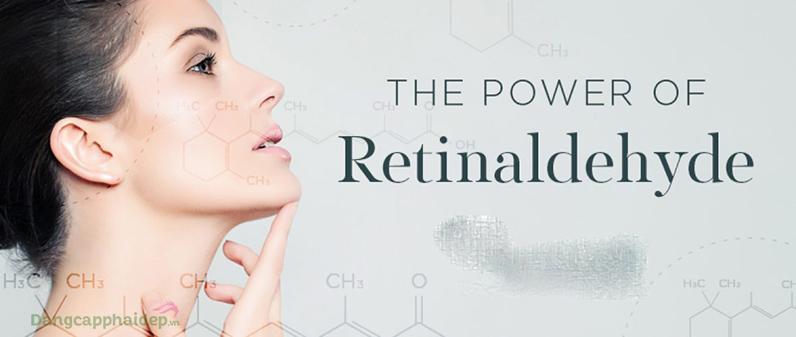 Retinaldehyde thành phần nằm giữa Retinol và Tretinoin