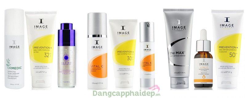 Rất nhiều dòng sản phẩm chủ lực tạo nên tên tuổi thương hiệu Image Skincare