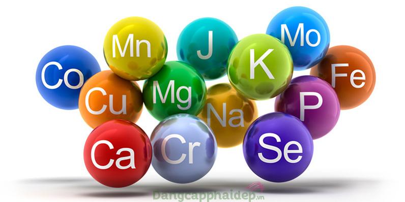 Hydro-Marin Phase M chứa rất nhiều khoáng chất và nguyên tố vi lượng.