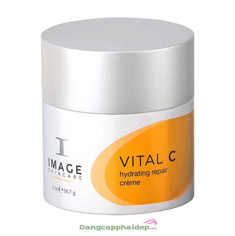 dưỡng da mùa lạnh Image Vital C Hydrating Repair Creme - Kem giảm kích ứng và làm dịu da từ Mỹ