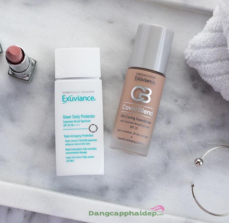 Kem nền Exuviance Skin Caring foundation SPF20