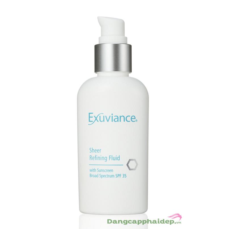 Kem phục hồi da Exuviance Sheer Refining Fluid SPF35 50ml - Đặc biệt tốt cho da dầu và da mụn