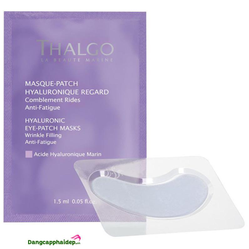 Mặt nạ mắt Thalgo Hyaluronic Eye Patch Masks giúp chăm sóc vùng da quanh mắt, cải thiện nếp nhăn hiệu quả.
