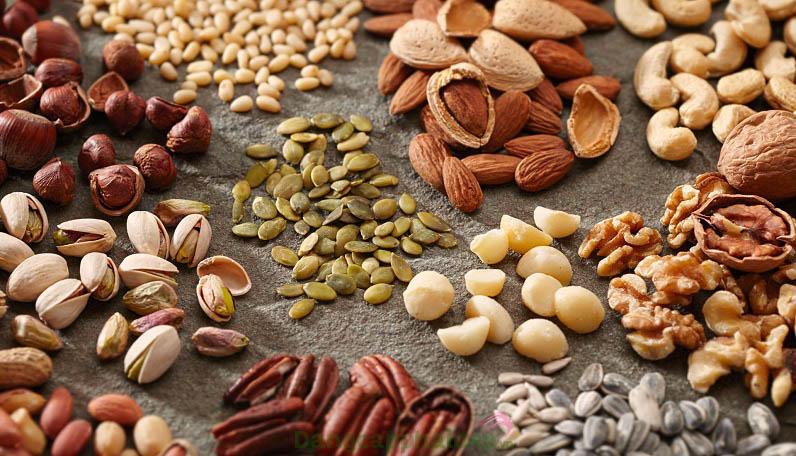 Vitamin E chiết xuất từ dầu của các loại hạt ngũ cốc