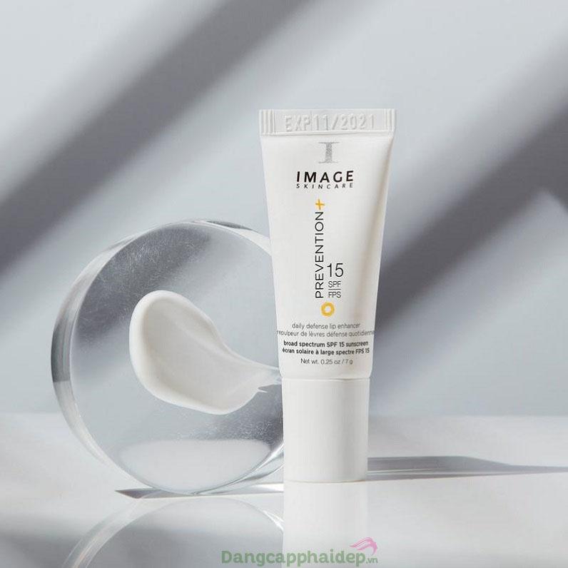 Chống nắng, dưỡng môi tối ưu với Image Prevention Daily Defense Lip Enhancer SPF 15