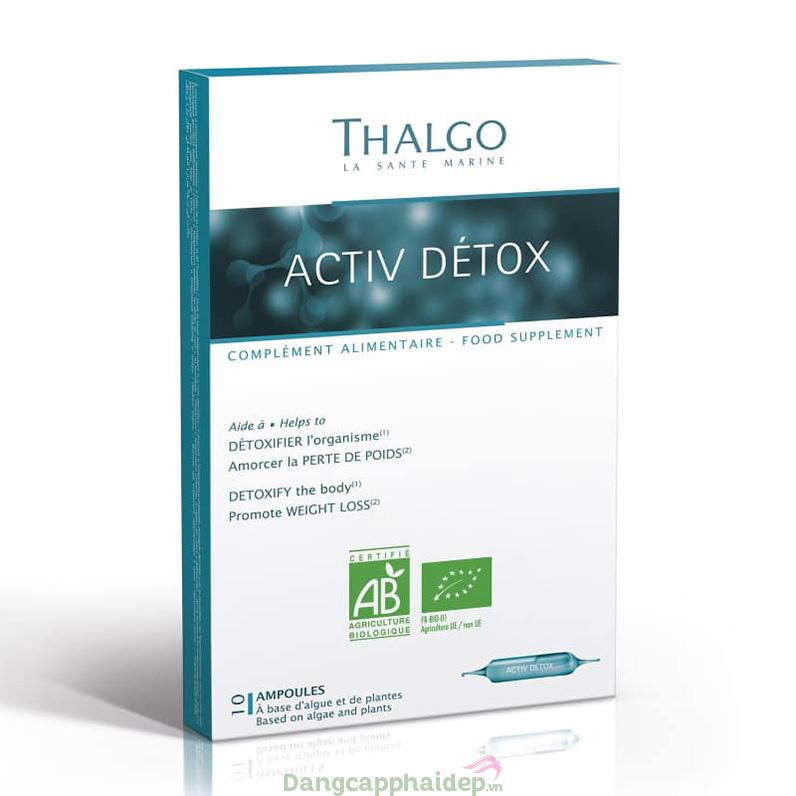 Thalgo - Activ Detox nước uống giải độc thanh lọc cơ thể - tăng cường sức khỏe - tươi sáng làn da