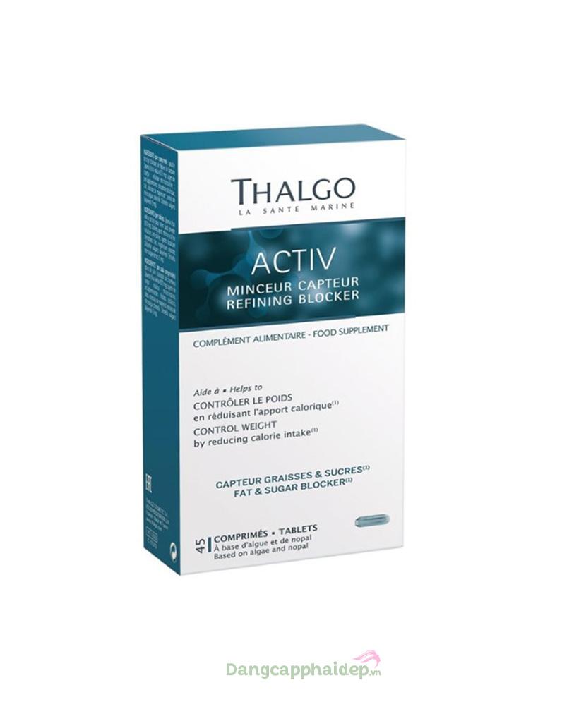 Viên uống thải độc, ngăn tích tụ mỡ Thalgo - Activ Refining Blocker
