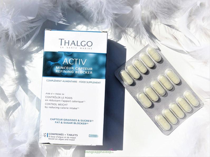 Thalgo - Activ Refining Blocker là dạng viên uống nhanh chóng tiện lợi.