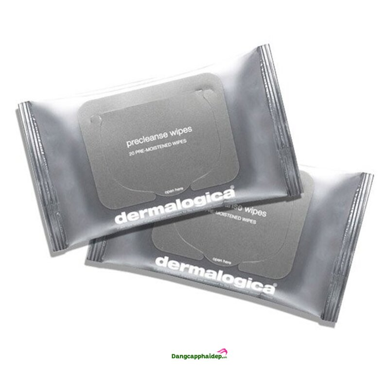 Khăn tẩy trang cao cấp Dermalogica Precleanse Wipes 20 miếng xuất xứ Mỹ