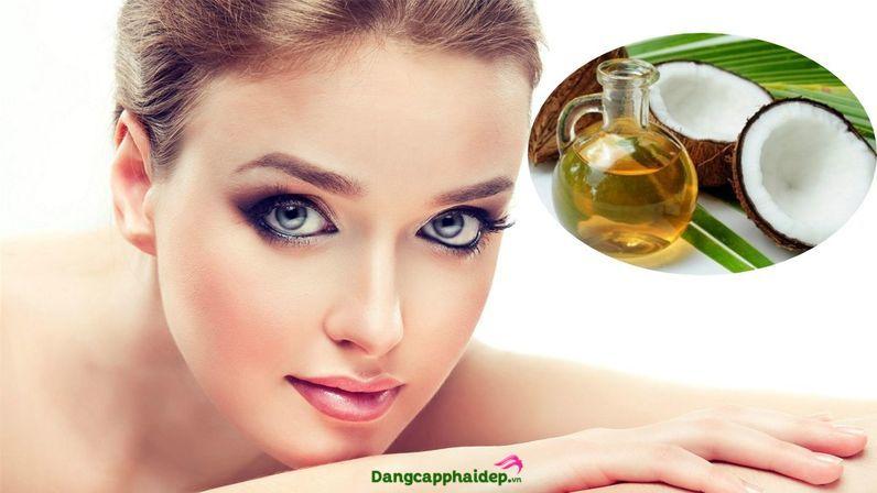 dầu dừa dưỡng lông mày