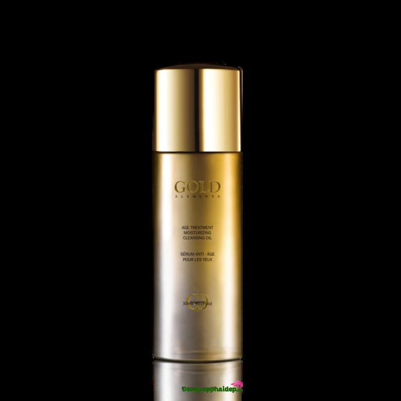 Gold Elements Age Treatment Moisturizing Cleansing Oil - Dầu tẩy trang chống lão hóa da