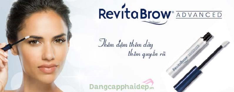 Serum dưỡng mày RevitaBrow ® EyeBrow Conditioner giúp lông mày dày, đậm với kiểu dáng như mong muốn