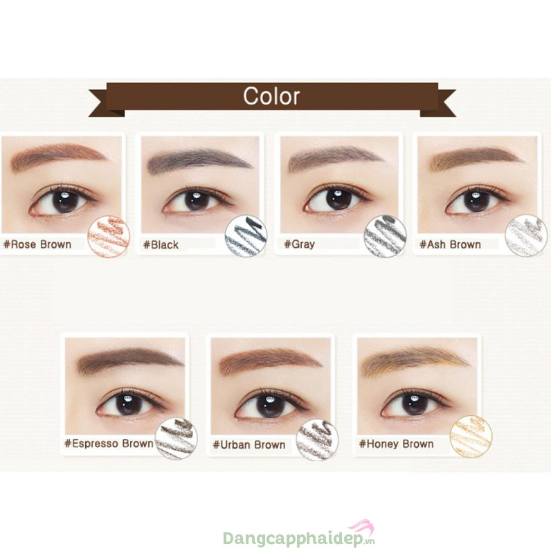 Màu sắc lông mày góp phần giúp gương mặt hài hòa hơn