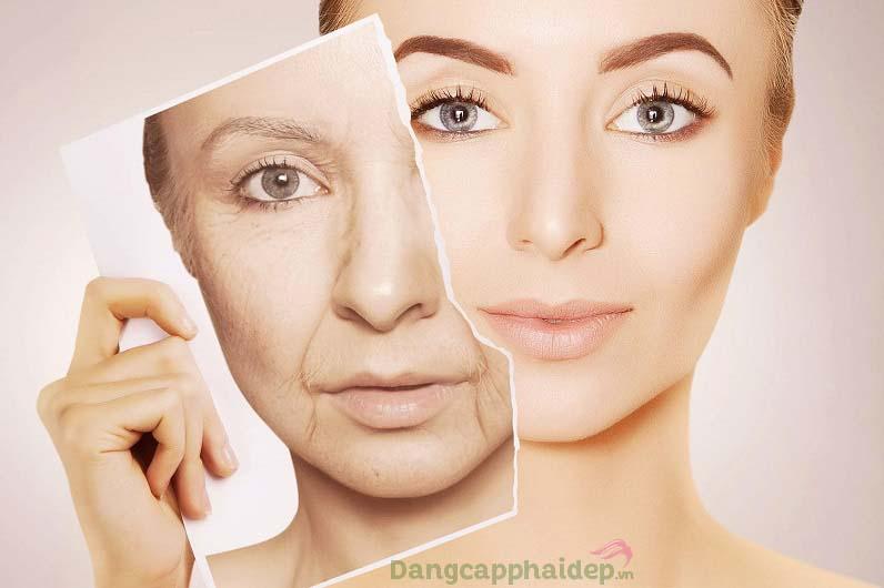 Da căng mượt, sáng mịn đều màu khi duy trì sử dụng Aqua Mineral 24k Intensive Face Serum