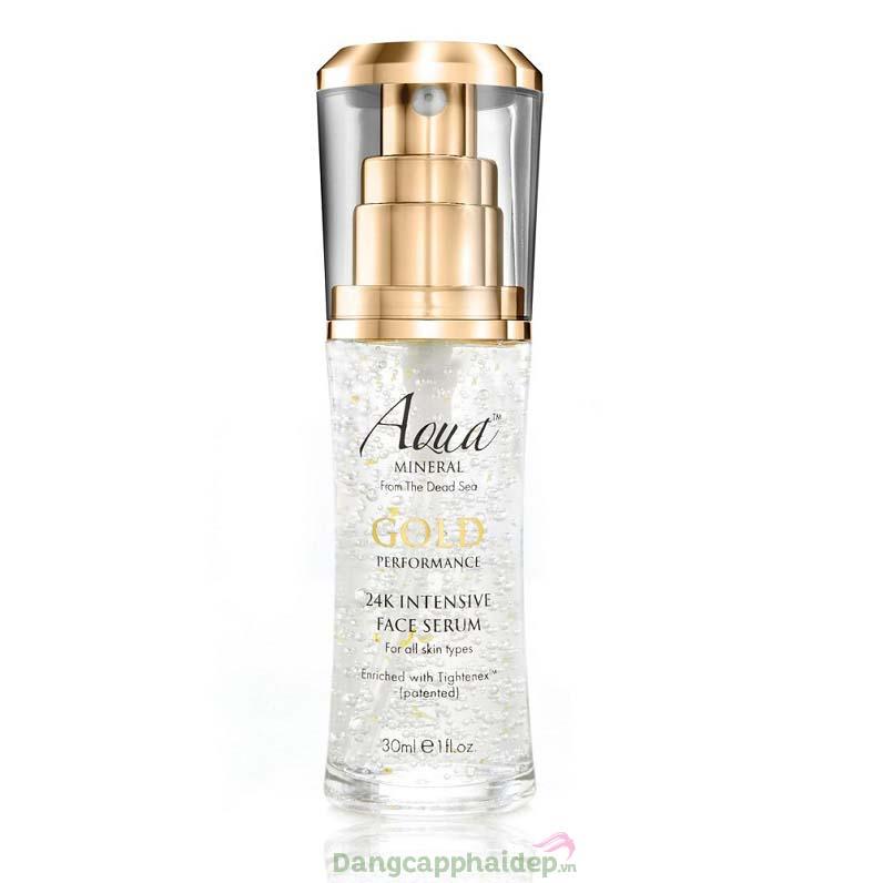 Aqua Mineral 24k Intensive Face Serum 30ml – Serum Vàng Giảm Nám Ngừa Lão Hóa