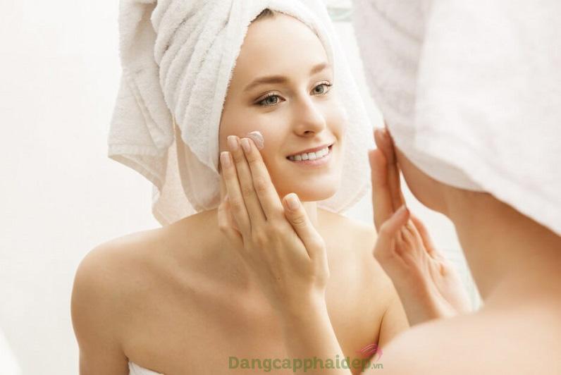 Sử dụng mặt nạ từ 2 - 3 lần/tuần để duy trì làn da luôn mịn màng khỏe mạnh