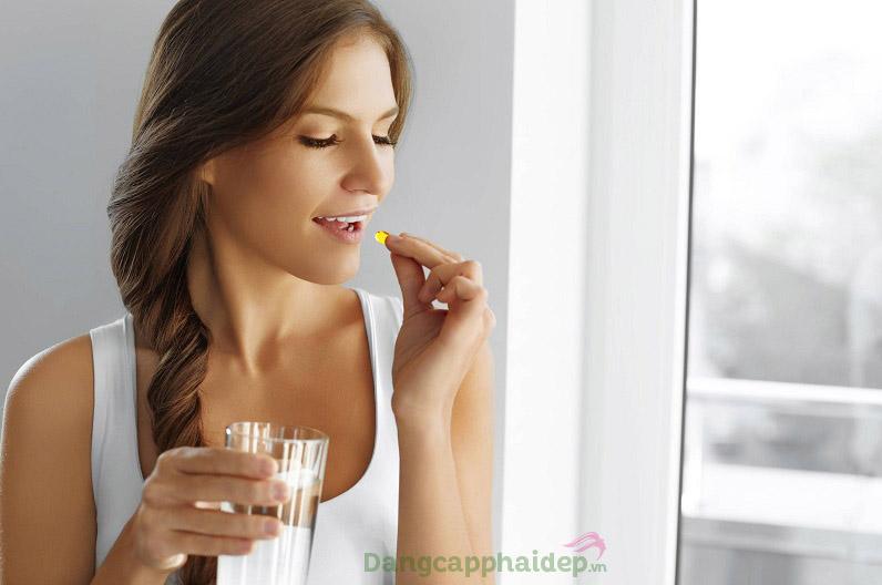 Uống collagen ngày mấy viên? Nên uống collagen 2 viên/ngày, 1 lần 1 viên