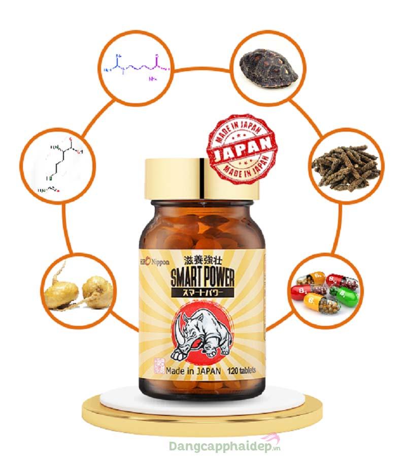 Rất nhiều thành phần dược liệu quý có trong sản phẩm Smart Power