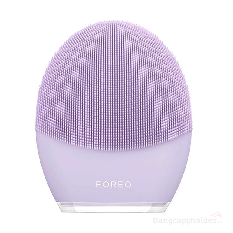Máy rửa mặt Foreo LUNA 3 for Sensitive Skin màu tím cho da nhạy cảm