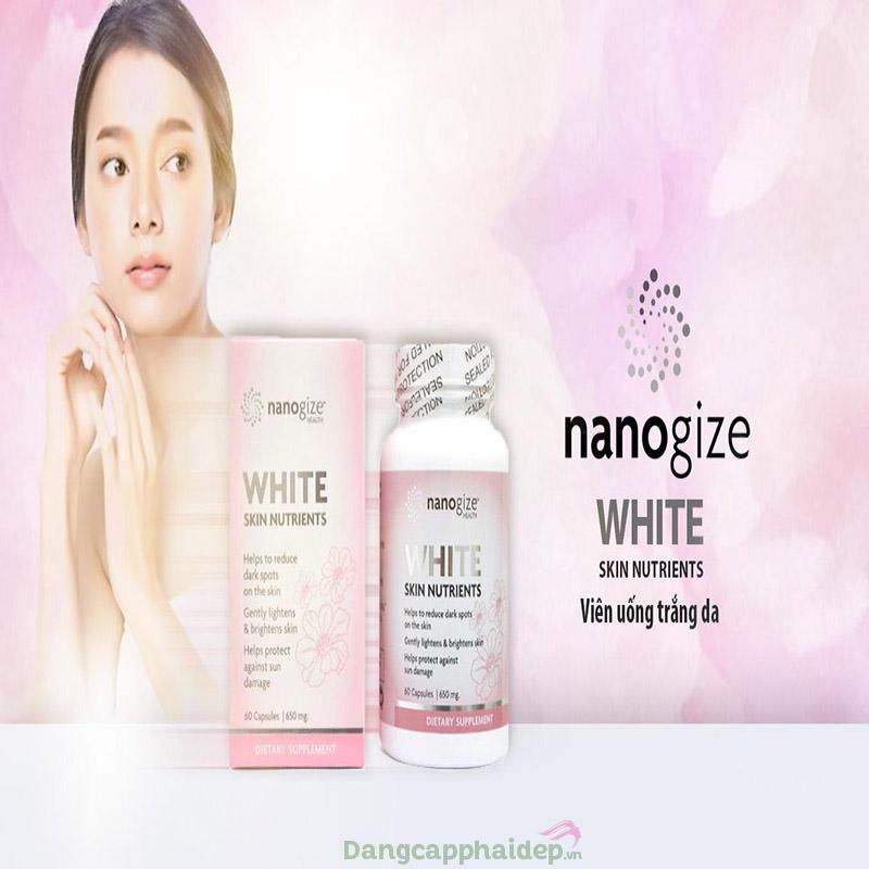 Nanogize White Skin Nutrients - Bậc thầy dưỡng sáng ngừa lão hóa