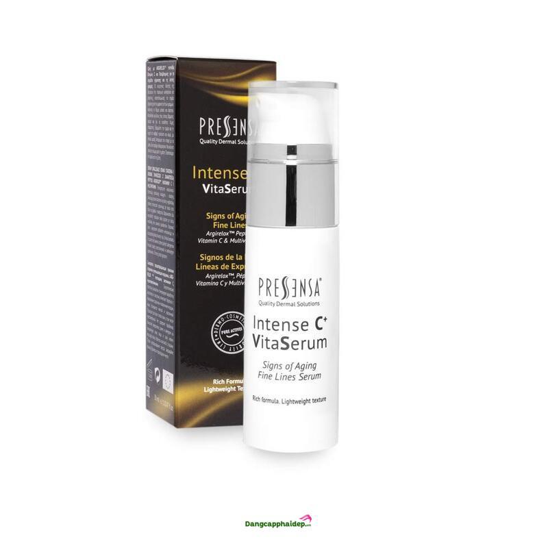 Pressensa Intense C+ Vita Serum 30ml - Serum chống lão hóa và nếp nhăn
