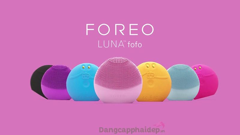 Máy rửa mặt Foreo Luna FoFo là máy rửa mặt có khả năng phân tích da đầu tiên trên thế giới