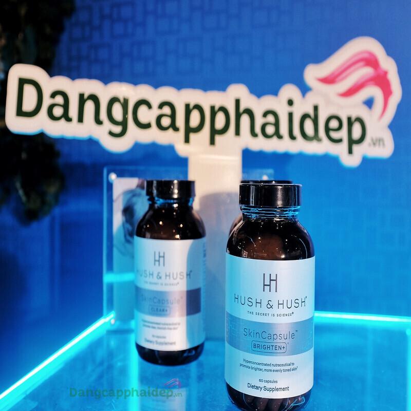 Viên uống trắng da Hush & Hush Skin capsule Brighten+ phù hợp cho nhiều đối tượng sử dụng.