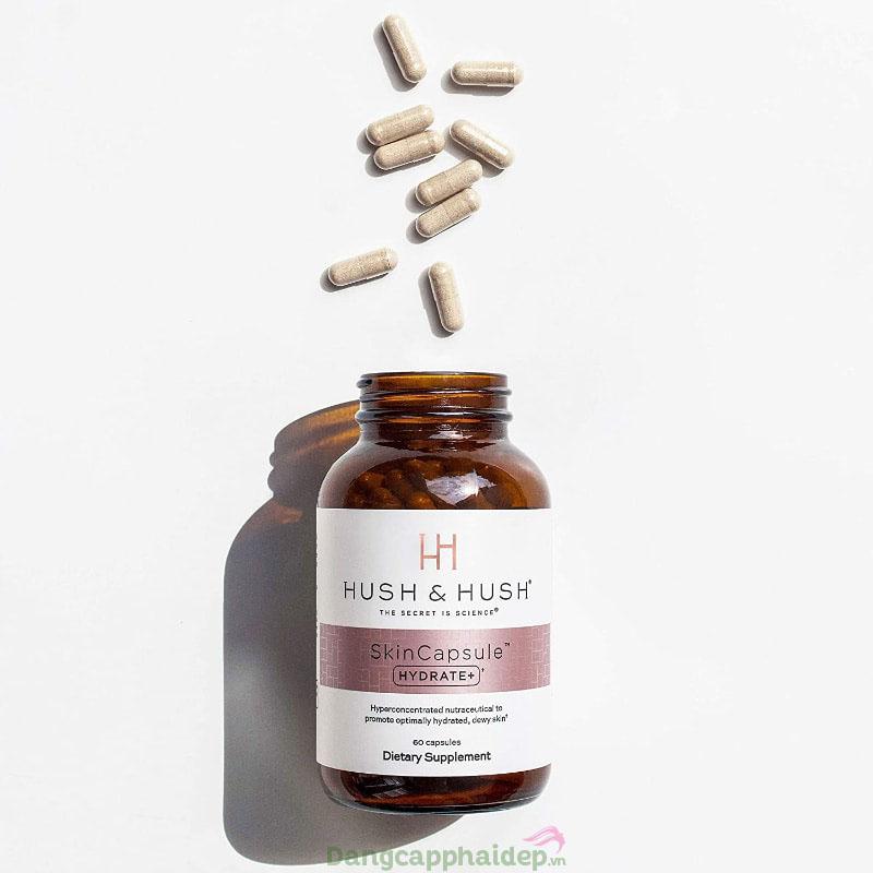 Hush & Hush SkinCapsule Hydrate - Giải pháp cấp ẩm mạnh mẽ từ bên trong