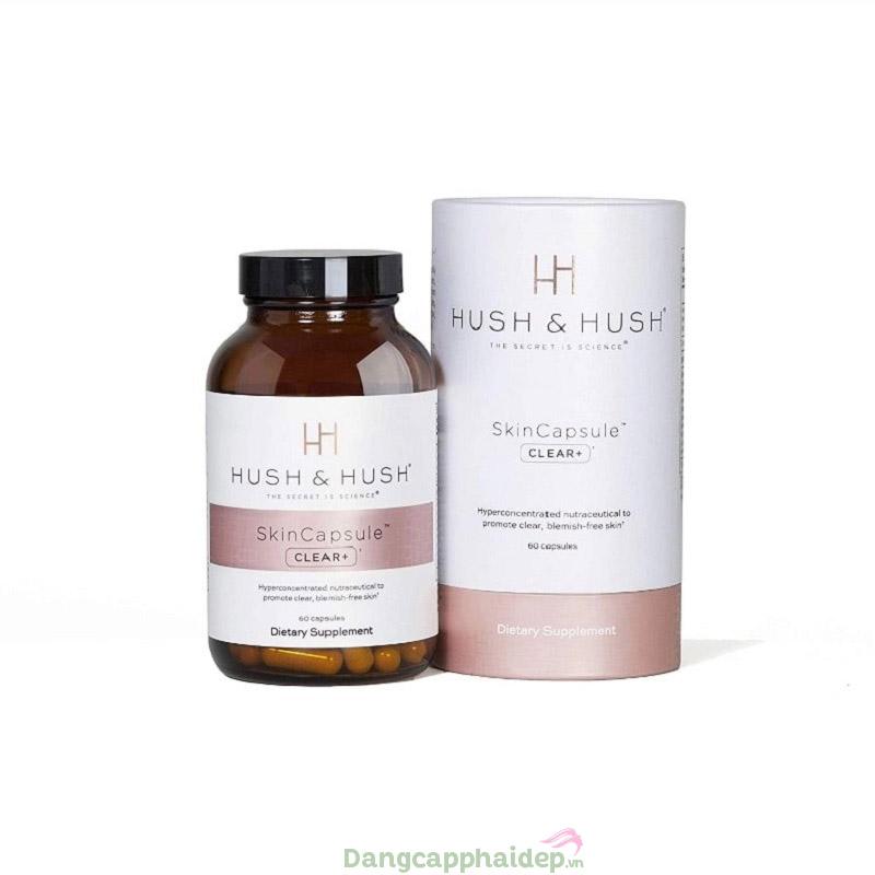 Viên uống trị mụn ngừa thâm Hush & Hush Skincapsule Clear