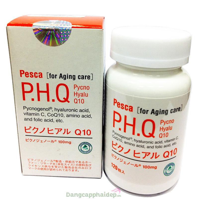 Bí quyết trị nám, làm đẹp da cải thiện sức khỏe với Pesca P.H.Q Pycno Hyalu Q10