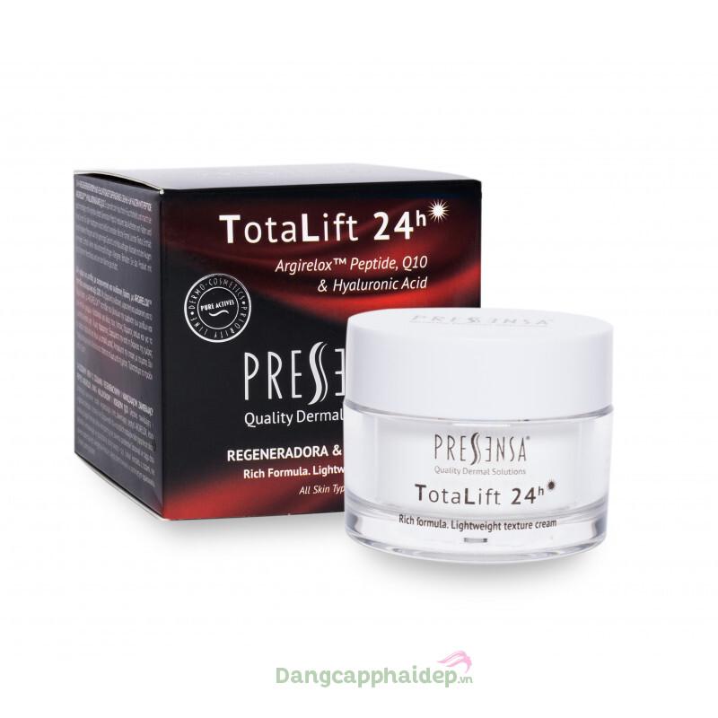 Kem dưỡng ẩm Pressensa TotaLift 24h - Tái tạo, dưỡng ẩm và chống lão hóa da
