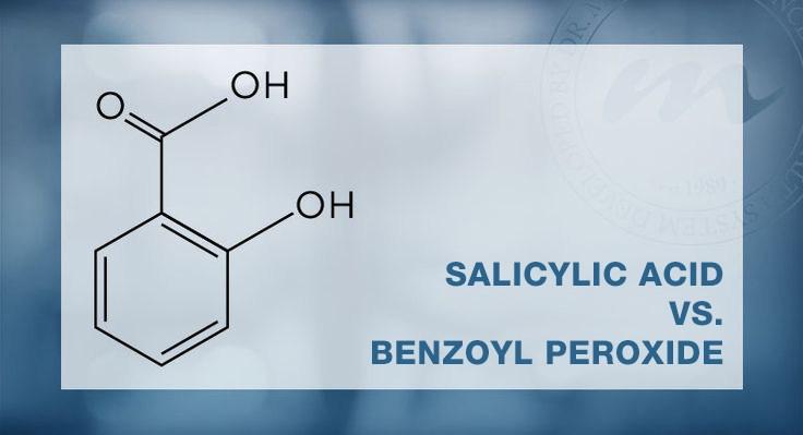 Salicylic acid và benzoyl peroxide là hai thành phần vàng trong việc trị mụn.