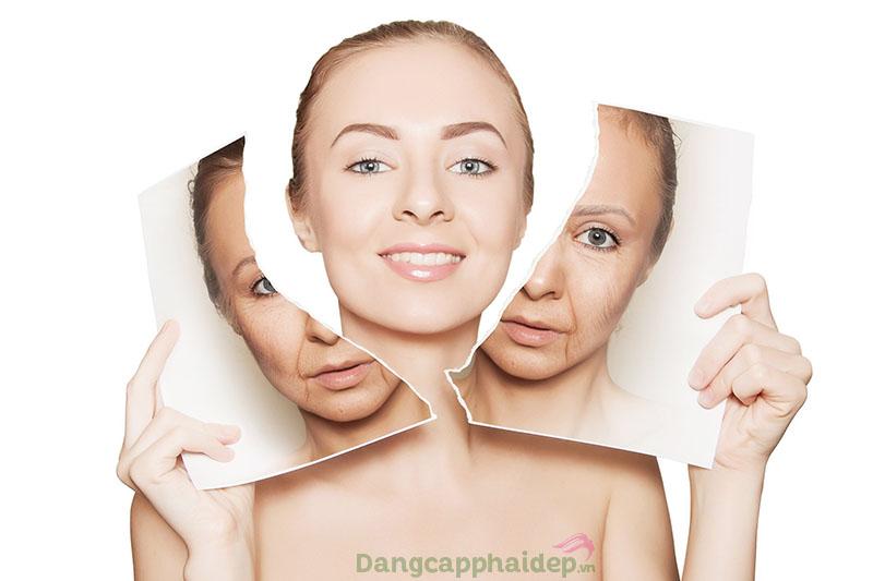 Trẻ hóa da, cải thiện da sắc chắc hơn với dầu dừa.