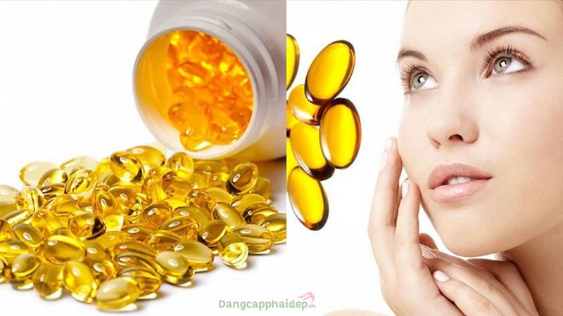 Bôi vitamin E lên mặt có tác dụng gì?