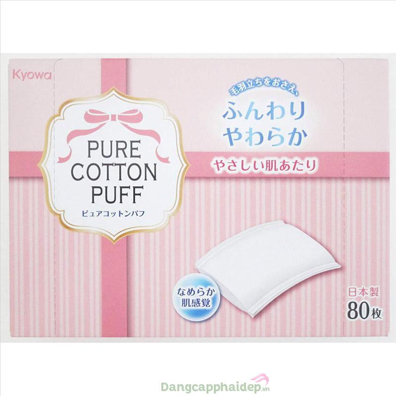 Bông tẩy trang Pure Cotton Puff.