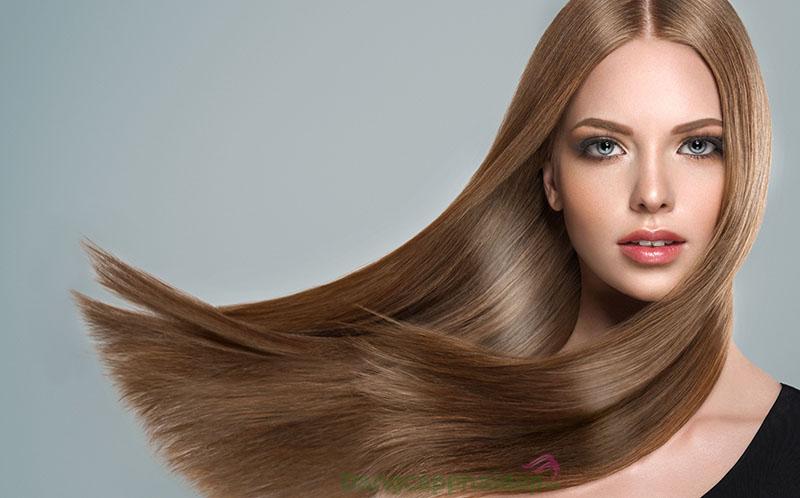 Dầu cám gạo hỗ trợ phục hồi tóc chắc khỏe, ngừa chẻ ngọn.