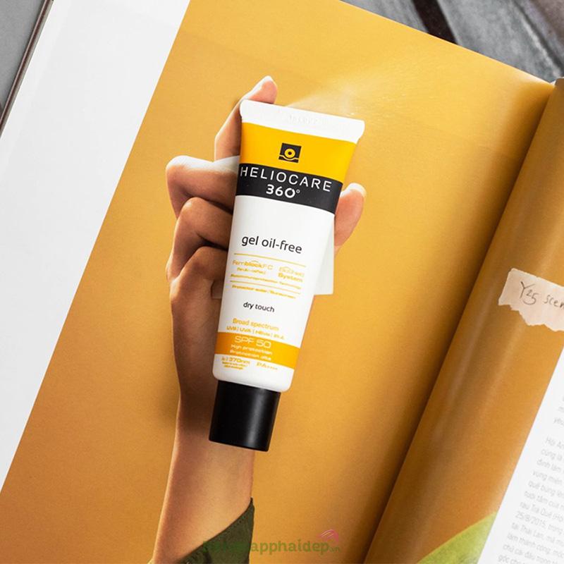 Heliocare là thương hiệu đình đám của thế giới chuyên về chống nắng, sử dụng kem chống nắng để bảo vệ da.