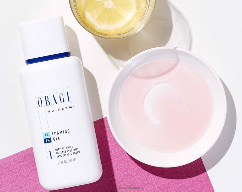 Sữa rửa mặt dạng gel dành cho da dầu, mụn Obagi NuDerm Foaming Gel