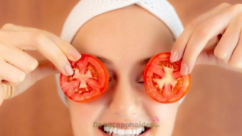 Đắp mặt nạ cà chua có tốt không