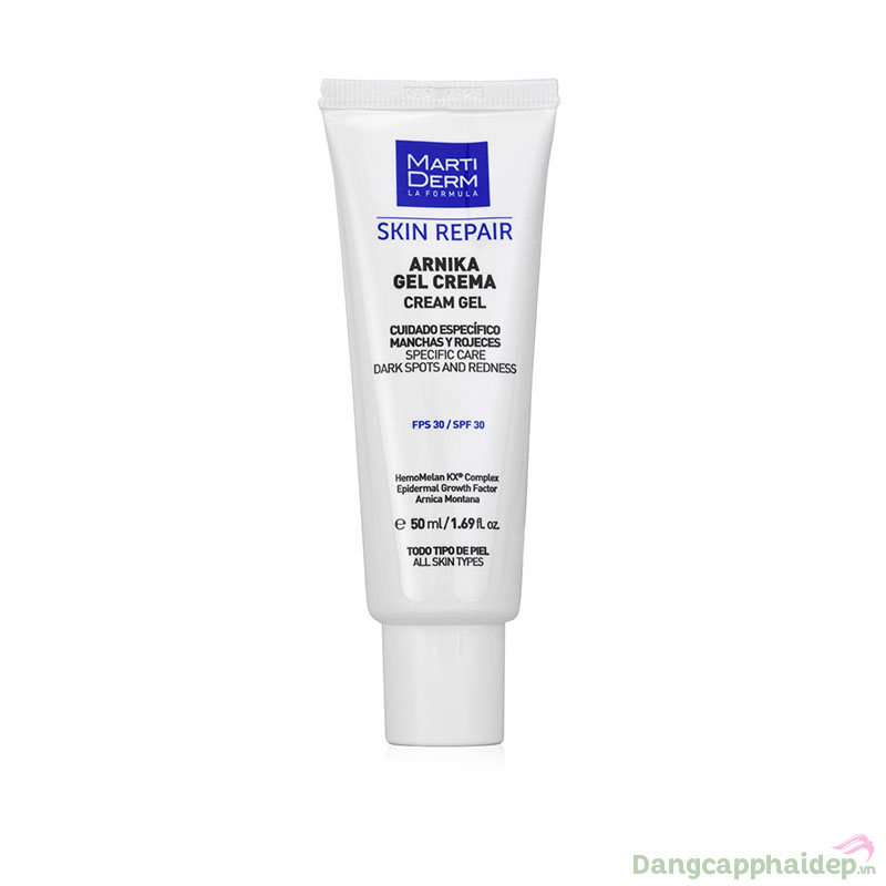 MartiDerm Skin Repair Arnika Gel Cream SPF 30 - Kem Phục Hồi Chống Nắng Sau Thẩm Mỹ