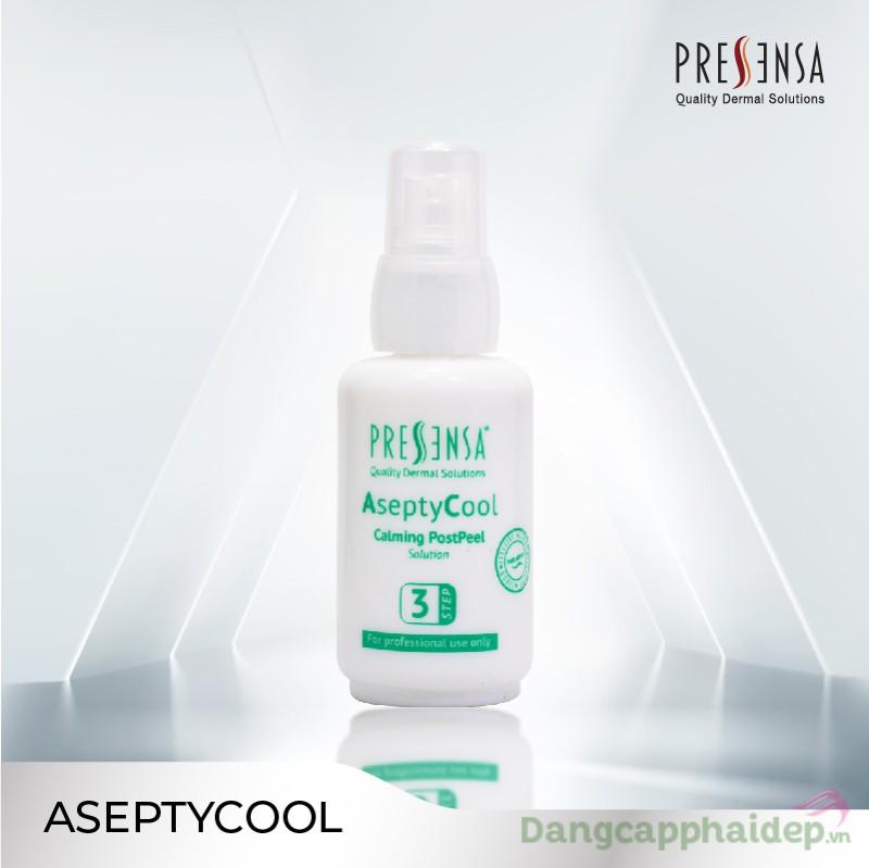The Pressensa AseptyCool 50ml - Dung dịch cân bằng da sau peel