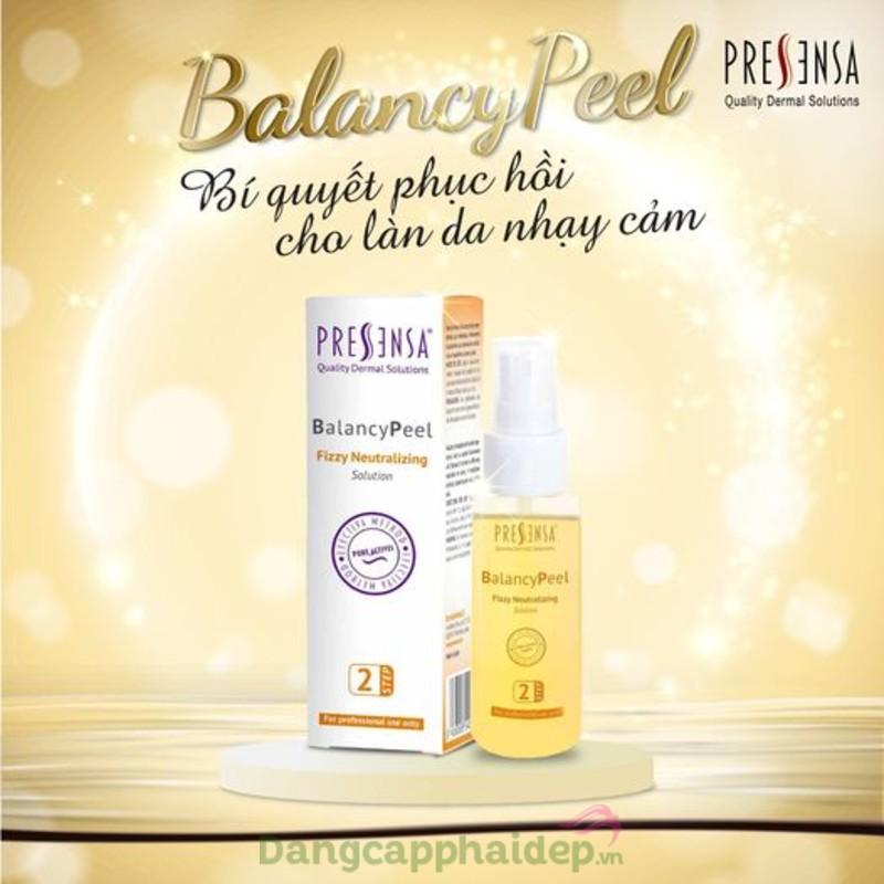 The Pressensa BalancyPeel 50ml - Peel phục hồi cho da nhạy cảm