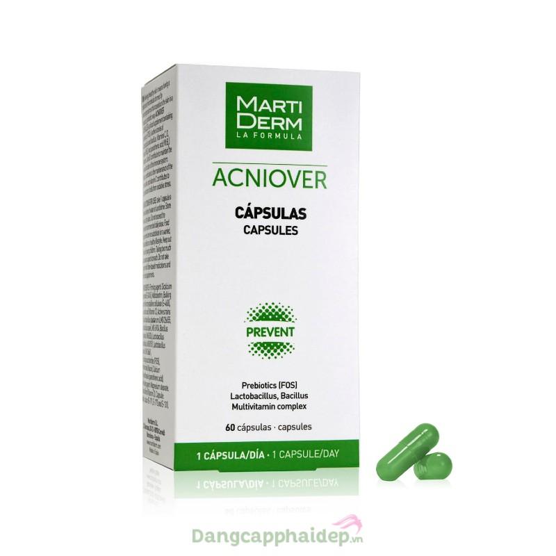 MartiDerm Acniover Capsules 60 viên - Viên uống ngăn ngừa mụn