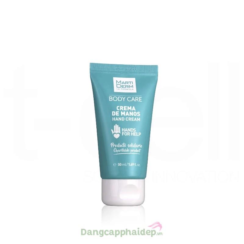 Martiderm Body Care Hand Cream 50ml - Kem dưỡng da tay thoáng mịn