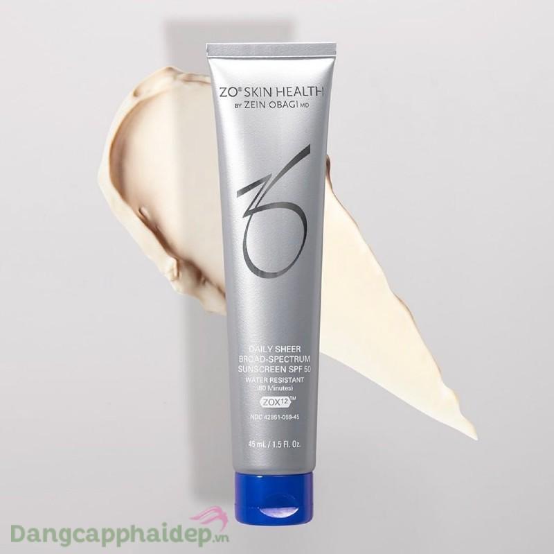 Zo Skin Health Daily Sheer Broad Spectrum SPF 50