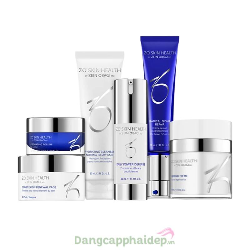 Zo Skin Health Aggressive Anti-Aging Program - Bộ sản phẩm giảm nhăn và tăng sắc tố