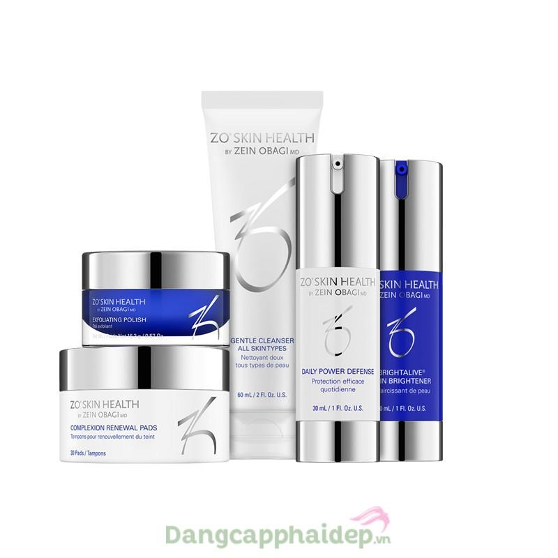 Zo Skin Health Skin Brightening Program - Bộ sản phẩm dưỡng sáng da