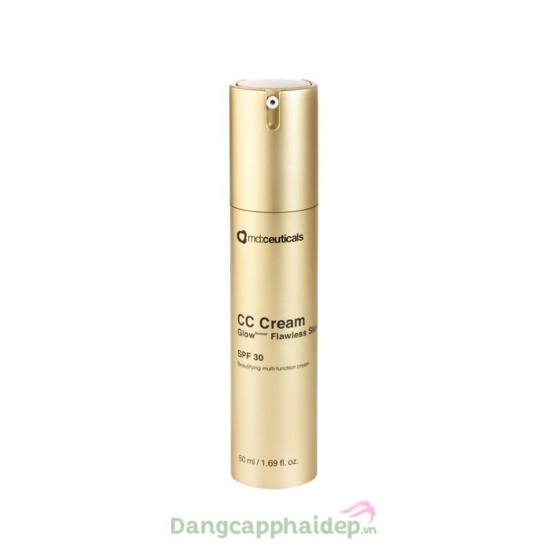 Md:ceuticals CC Cream GlowBooster Flawless Skin 50ml - Kem nền CC chống nắng SPF 30
